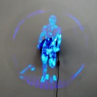 Голограмма для 3D вентилятора Бегущий человек