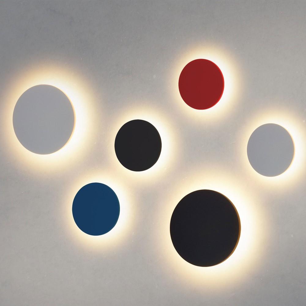 Concept L черный уличный настенный светодиодный светильник 1661 TECHNO LED