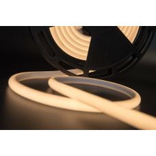 Термолента светодиодная SMD 2835, 180 LED/м, 12 Вт/м, 24В , IP68, Цвет: 3000К