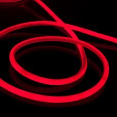 Набор гибкий неон LS003 220V 9.6W 144Led 2835 IP67 16mm круглый красный, 10 м