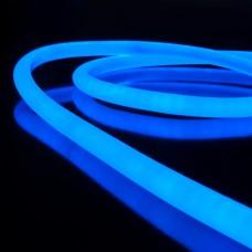 Набор гибкий неон LS003 220V 9.6W 144Led 2835 IP67 16mm круглый синий, 10 м