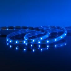 Набор лента светодиодная 220V 4,4W 60Led 3528 IP65 синий, 10 м (LSTR001 220V 4,4W IP65)