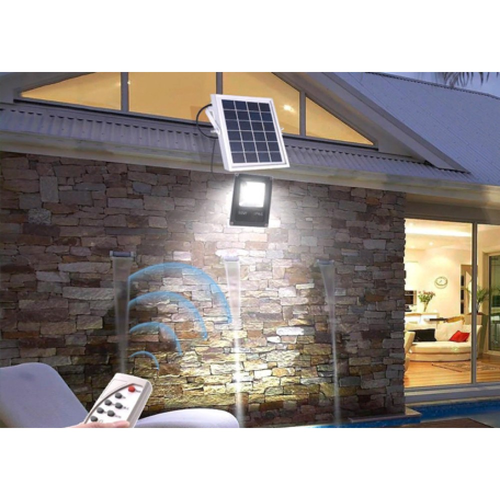 Светодиодный прожектор на солнечной батарее KL10SB мощностью 10Вт
