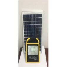 Ручной светодиодный прожектор на солнечной батарее KL25SBR мощностью 25Вт