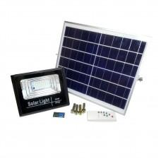 Светодиодный прожектор на солнечной батарее KL30SB мощностью 30Вт
